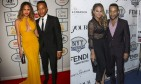 Chrissy Teigen and John Legend show off their intimate body language. Photos: Andrew Evans / PR Photos; MJ Photos / PRPhotos.com