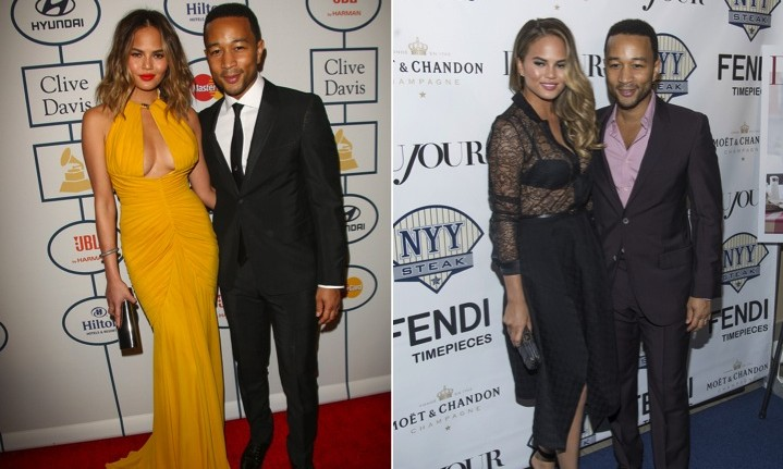 Cupid's Pulse Article: John Legend and Chrissy Teigen's Body Language: More Intimate Than PDA