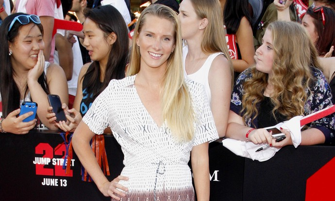 Heather Morris is engaged to Taylor Hubbell. Photo: David Gabber / PRPhotos.com