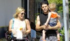 Hilary Duff and Mike Comrie prove that couples can be friends after divorce. Photo: NAV/FAMEFLYNET PICTURES