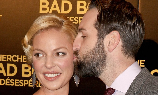 "Katherine Heigl, with husband Josh Kelley, says ""family comes first."" Photo: Pixplanete / PR Photos"