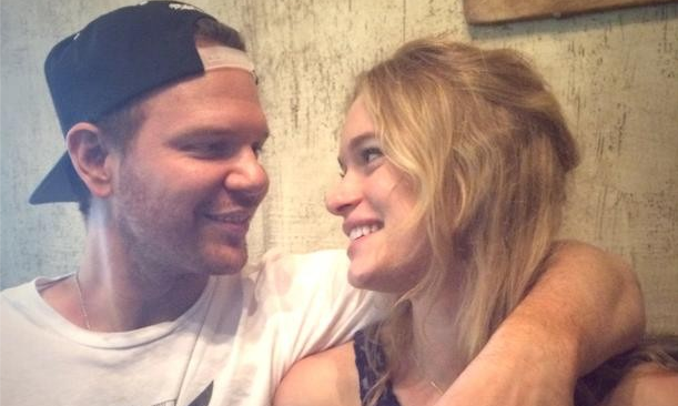 Jim Parrack and Leven Rambin announced their engagement after only a few months of dating. Photo courtesy of Leven Rambin's Instagram.