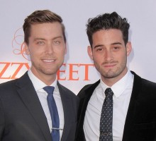 Lance Bass Proposes to Michael Turchin Again on Anniversary of Engagement