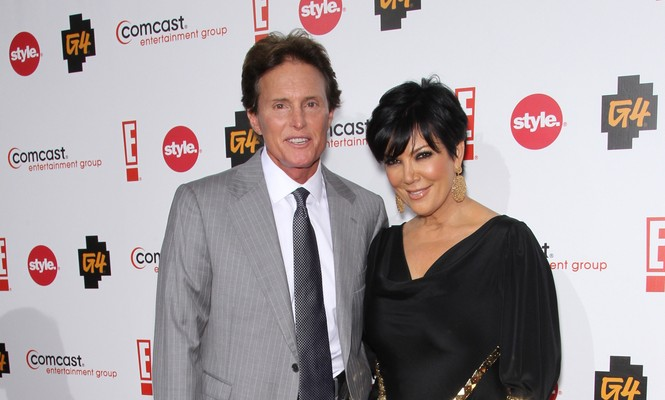 Bruce Jenner and Kris Jenner officially file for divorce. Photo: Chris Hatcher / PR Photos