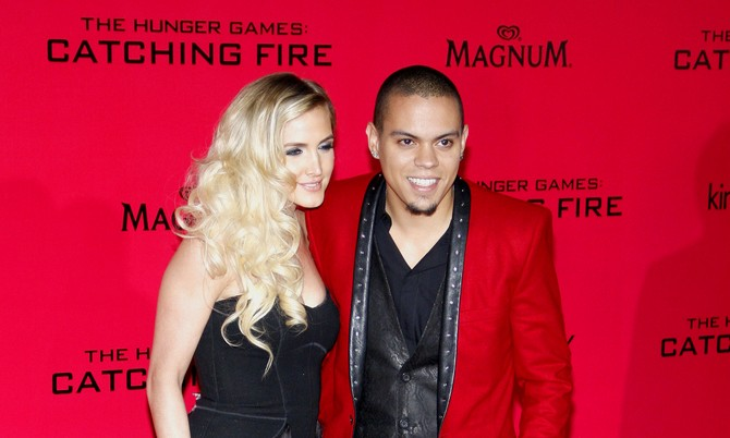 Cupid's Pulse Article: Ashlee Simpson Ties the Knot with Evan Ross at Diana Ross' Estate