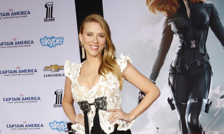 Cupid's Pulse Article: Scarlett Johansson Welcomes Daughter Rose With Fiance Romain Dauriac