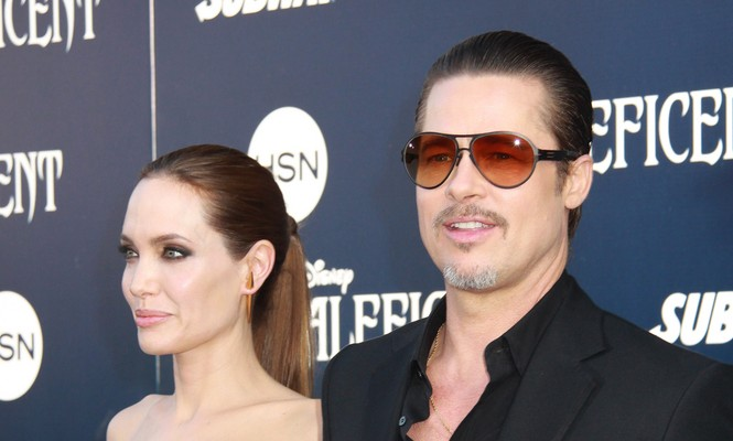 Cupid's Pulse Article: Famous Couple Brad Pitt and Angelina Jolie Honor Her Late Mother at Celebrity Wedding