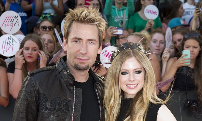Cupid's Pulse Article: Sources Say Avril Lavigne and Chad Kroeger Are Headed for Splitsville