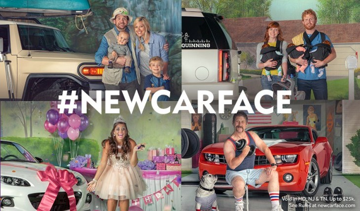 Cupid's Pulse Article: For The Love of Cars! Cars.com Launches #newcarface Contest