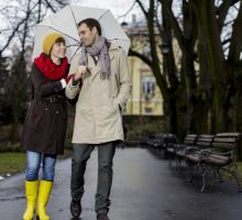 Date Idea: Rain, Rain, Come Out and Play