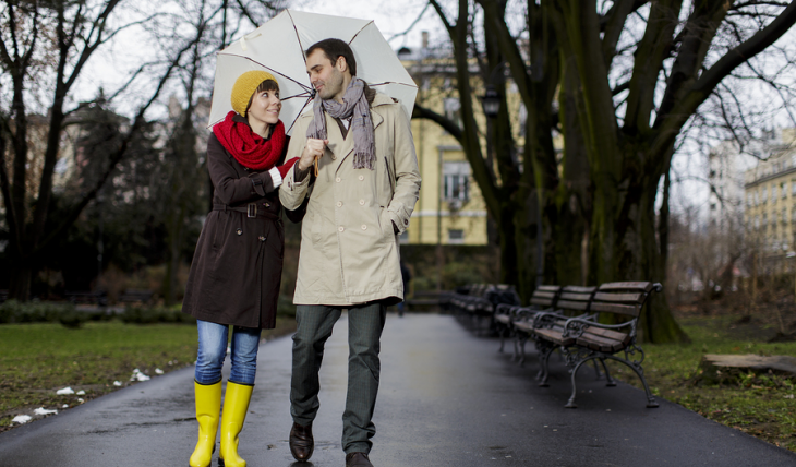Cupid's Pulse Article: Date Idea: Rain, Rain, Come Out and Play