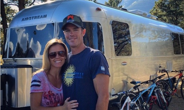 Trista Sutter and Ryan Sutter enjoy a surprise camping trip. Photo: Trista Sutter / Instagram