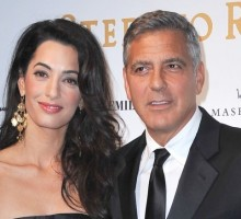 George Clooney and Amal Alamuddin Honeymoon in England