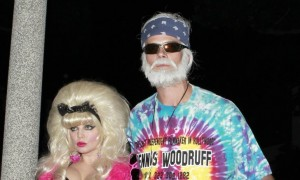 Fergie and Josh Duhamel sported Halloween costumes in 2012. Photo: Coqueran/FAMEFLYNET PICTURES