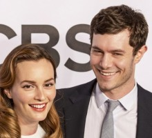 Celebrity Couple Adam Brody & Leighton Meester Joke About 'Seth and Blair Days'