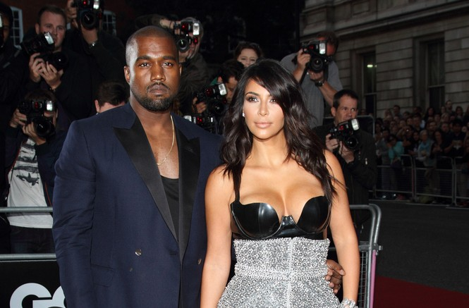 Kanye West gave a shout-out to Kim Kardashian for her b-day. Photo: Landmark / PR Photos