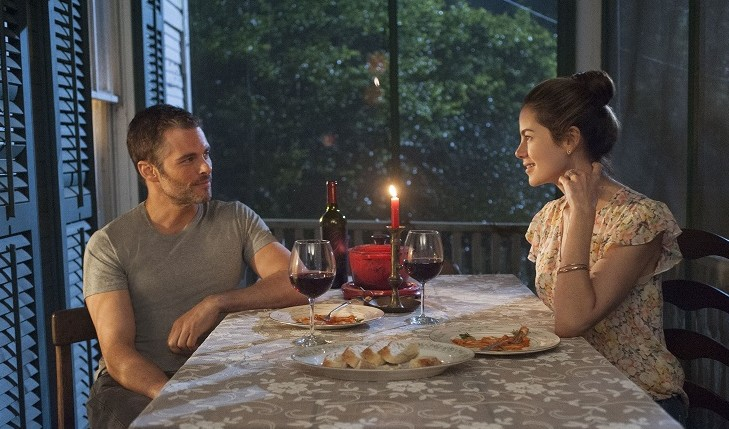 'The Best of Me' tells the story of Amanda and Dawson, high school sweethearts who are reunited after 20 years apart. Photo courtesy of Relativity Media / Mammoth NYC.