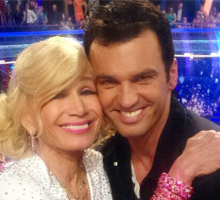 "'DWTS' Pro Tony Dovolani on  Betsey Johnson: ""She's Never Felt Pretty in Her Life"""