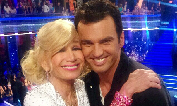 'DWTS' pro Tony Dovolani gushes about partner Betsey Johnson. Photo courtesy of Betsey Johnson's Instagram.