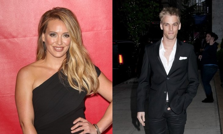Cupid's Pulse Article: Hilary Duff Says Aaron Carter's Love Declarations Are 'Uncomfortable'