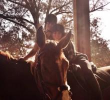 Ian Somerhalder Goes Horseback Riding with New Girlfriend Nikki Reed