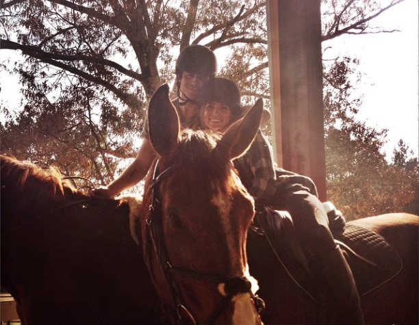 Cupid's Pulse Article: Ian Somerhalder Goes Horseback Riding with New Girlfriend Nikki Reed