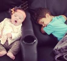 Reality TV Stars JWoww and Snooki's Celebrity Kids Enjoy a Sleepy Movie Date