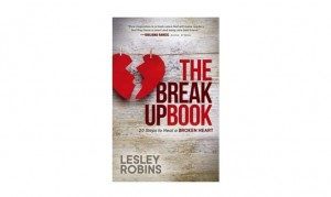 Author Lesley Robins talks about new book 'The Breakup Book.'