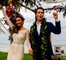 Matthew Morrison Shares Wedding Photo With New Wife Renee Puente