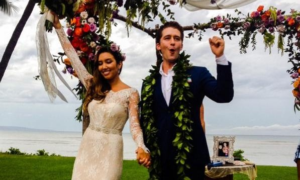 Cupid's Pulse Article: Matthew Morrison Shares Wedding Photo With New Wife Renee Puente