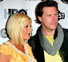 Celebrity Couple Tori Spelling & Dean McDermott Celebrate His Bday at Spa Getaway