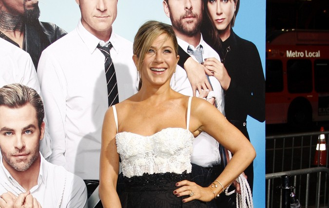 Jennifer Aniston discussed wedding dates with Ellen DeGeneres. Photo: David Gabber / PRPhotos.com