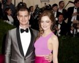 Andrew Garfield Attends Girlfriend Emma Stone's Broadway Debut