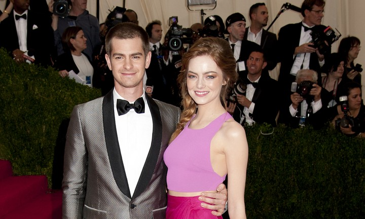 Cupid's Pulse Article: Andrew Garfield Attends Girlfriend Emma Stone's Broadway Debut
