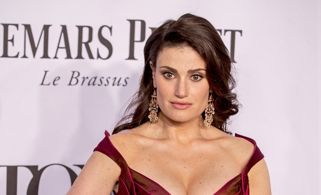 Cupid's Pulse Article: Idina Menzel Discusses 'Slutty' Dating Style