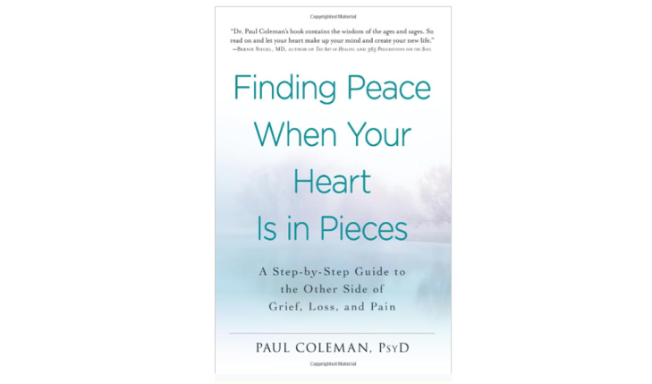 Cupid's Pulse Article: Dr. Paul Coleman Talks About Love and Loss in 'Finding Peace When Your Heart Is in Pieces'