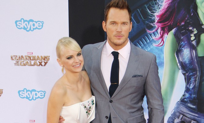 Anna Faris and Chris Pratt attend the Los Angeles premiere of 'Guardians of the Galaxy.' Photo: Kazuki Hirata / HollywoodNewsWire.net / PRPhotos.com
