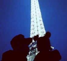 Beyoncé Shares Eiffel Tower Pic with Jay-Z and Blue Ivy