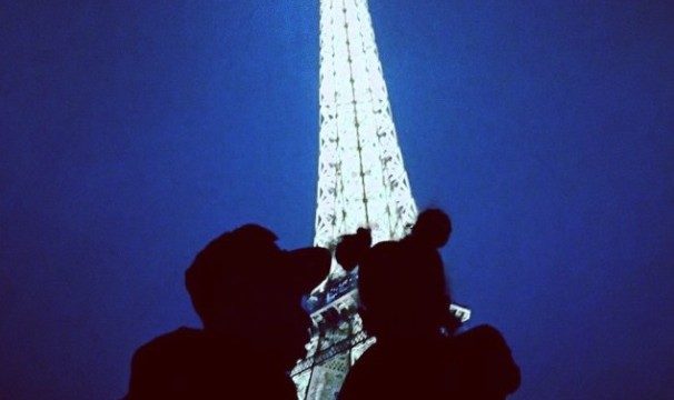 Cupid's Pulse Article: Beyoncé Shares Eiffel Tower Pic with Jay-Z and Blue Ivy
