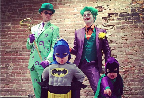 Cupid's Pulse Article: Neil Patrick Harris and Family Wear Gotham-Themed Halloween Costumes