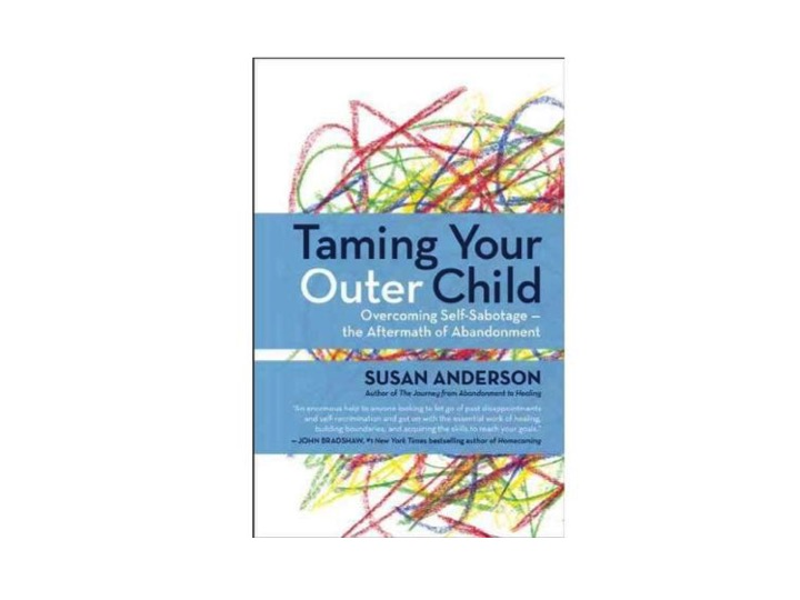 Cupid's Pulse Article: Relationship Author Susan Anderson Explains Common Patterns in 'Taming Your Outer Child'