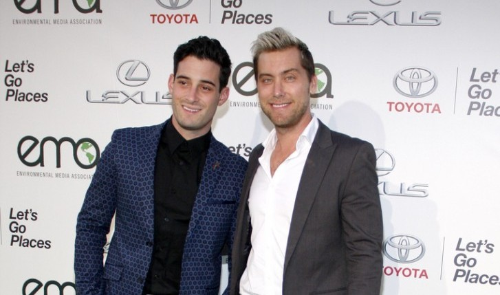 Cupid's Pulse Article: Lance Bass Celebrates One Year Celebrity Wedding Anniversary
