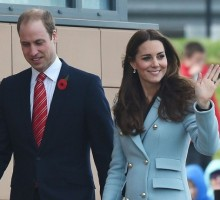 Prince William and Kate Middleton Arrive in NYC for U.S. Visit