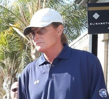 Bruce Jenner Attends Ex-Wife Kris' Annual Christmas Eve Party