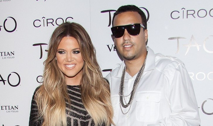 Khloe Kardashian and French Montana. Photo: JPVegas/FAMEFLYNET PICTURES