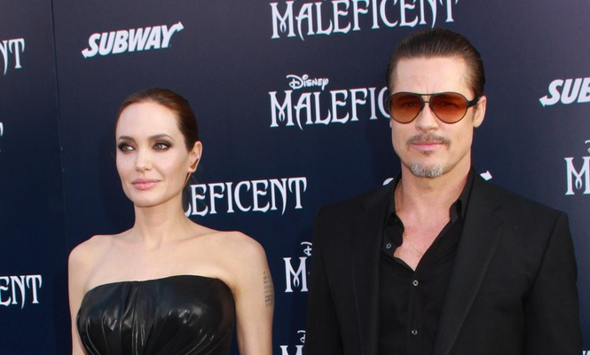Angelina Jolie recently said 2014 was great because she married Brad Pitt. Photo: Kazuki Hirata / HollywoodNewsWire.net / PRPhotos.com