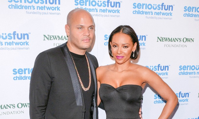Melanie Brown is reported to have left Stephen Belafonte due to domestic abuse. Photo: Landmark / PR Photos