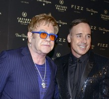 Elton John and Partner David Furnish Marry in England