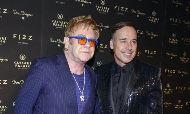 Cupid's Pulse Article: Elton John and Partner David Furnish Marry in England