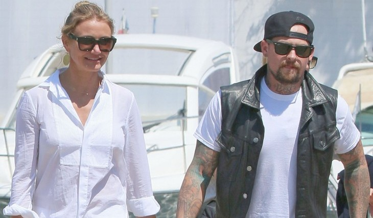 Shoshi reveals her predictions for newly-engaged couple Cameron Diaz and Benji Madden. Photo: FAMEFLYNET PICTURES